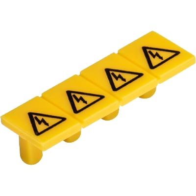 AD WTP 2,5, Copertura con simbolo di pericolo, 04.344.2355.8