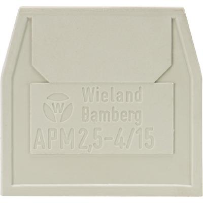 APM 2,5 - 4 / 15, Abschlussplatte, 07.311.0853.0