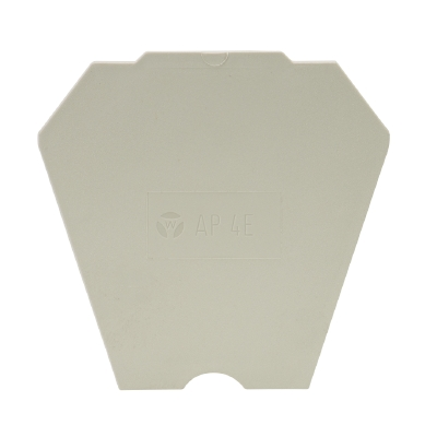 AP 4 E /V0, End plate, 07.311.4055.0