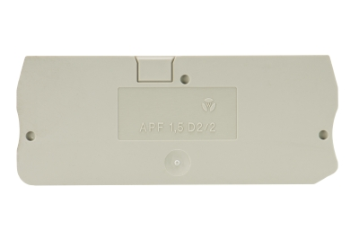 APF 1,5 D2/2, End plate, 07.312.8553.0