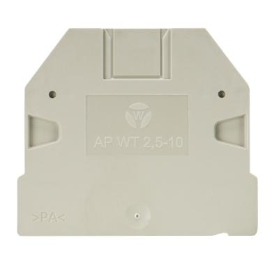 AP WT 2,5-10 GR, End plate, 07.313.2555.0