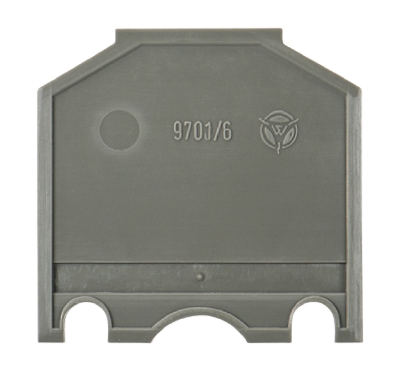 9701 / 6, End plate, 07.310.3153.0