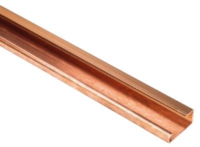 TS 32 UNPERF CU - l:2000mm, DIN-skinne, 98.220.0000.0