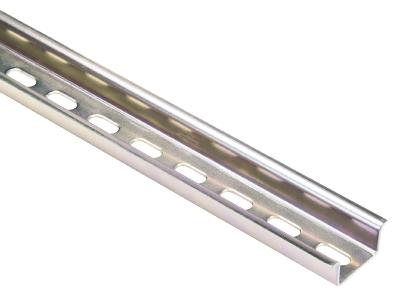 TS 35x15 PERF 15mm - l:2000mm, Mounting rail, 98.370.1000.0