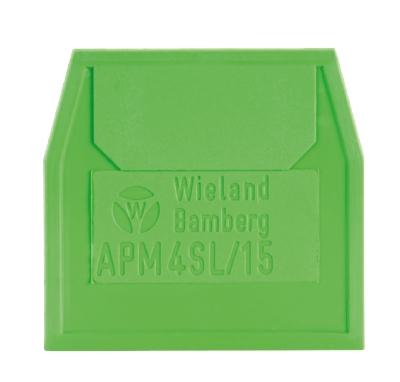 APM 4 SL / 15, End plate, 07.311.0753.0