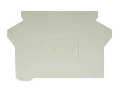 APN 16 DS, plaque d'extrémité, 07.313.2255.0