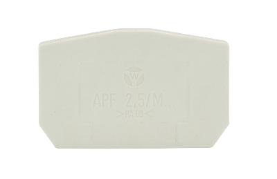 APF 2,5 / M.., plaque d'extrémité, 07.312.2953.0